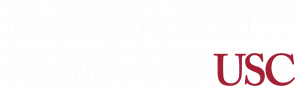 Keck school of medicine of USC. Logotype.